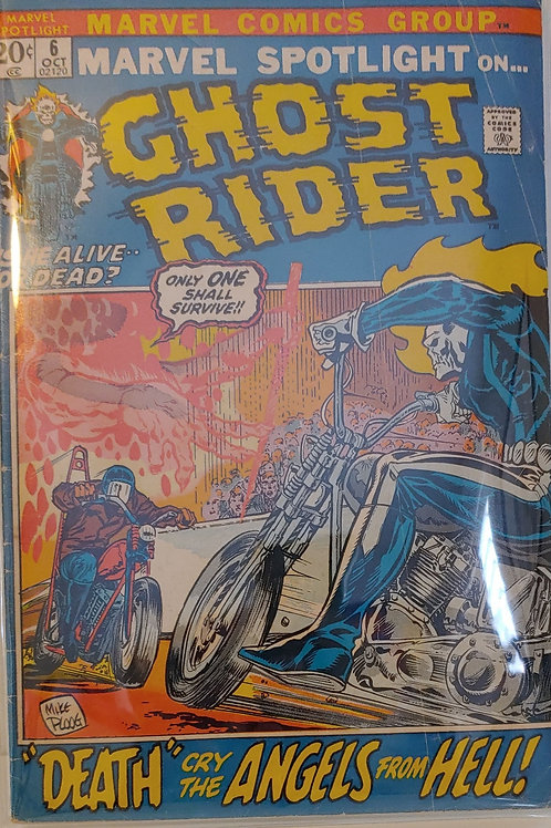 Marvel Spotlight #6-- 2nd Ghost Rider