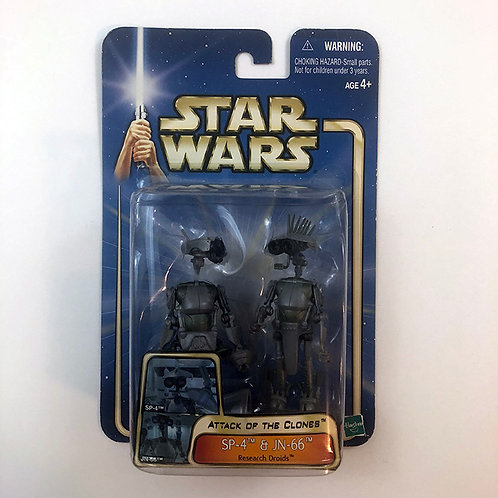 Star Wars Attack of the Clones SP-4 &JN-66