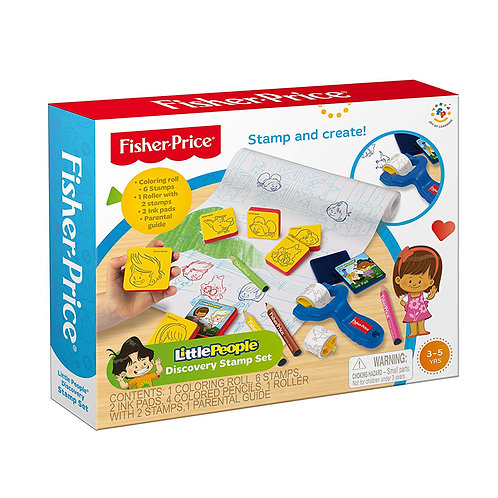 Little People Discovery Stamp Set
