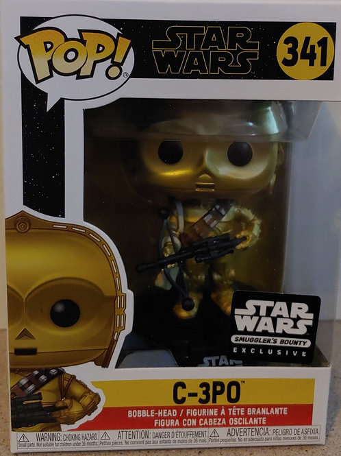 C-3PO with Bowcaster