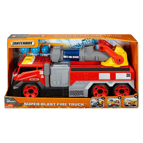 Matchbox Super-Blast Fire Truck