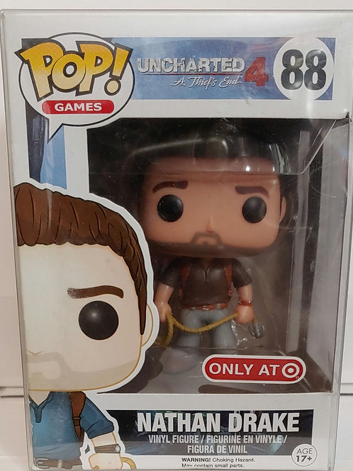 Uncharted 4 Nathan Drake Target exclusive