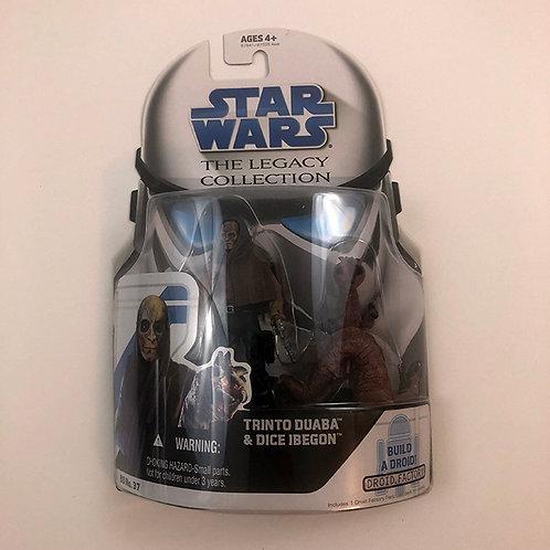 Star Wars The Legacy Collection Trinto Duaba & Dice Ibegon