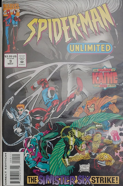Spider-man Unlimited #9. NM