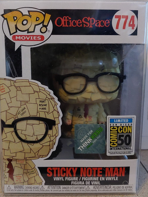 Office Space Sticky Note Man SDCC exclusive