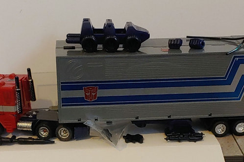 Transformers G1 Optimus Prime--rough box and styrofoam