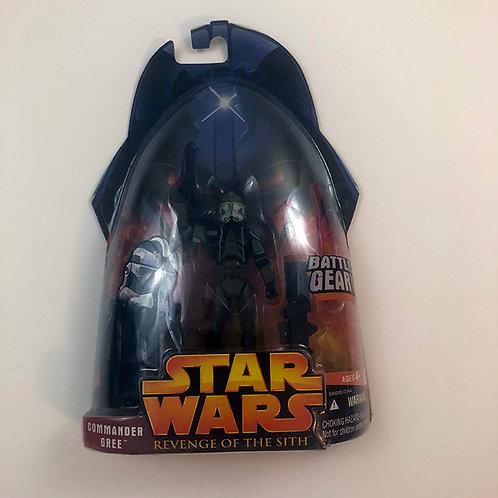 Star Wars Revenge of the Sith Commander Gree