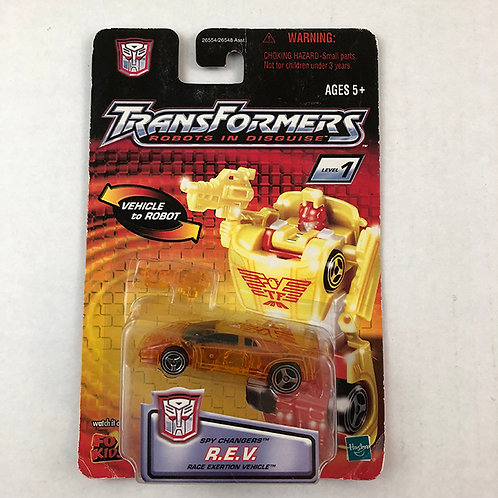 Transformers Robots in Disguise Spy Changers R.E.V.