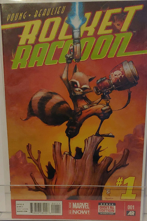 Rocket Racoon #1 Scottie Young cover