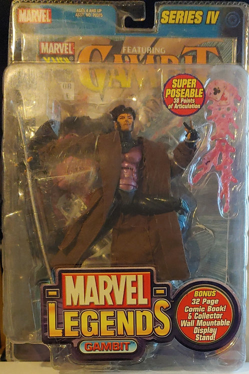 Marvel Legends Series 4 Gambit