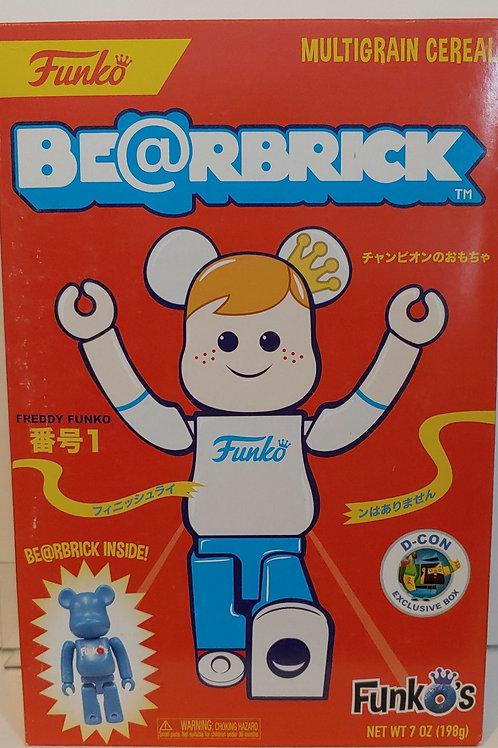 Funko 2018 DesignerCon exclusive Bearbrick cereal