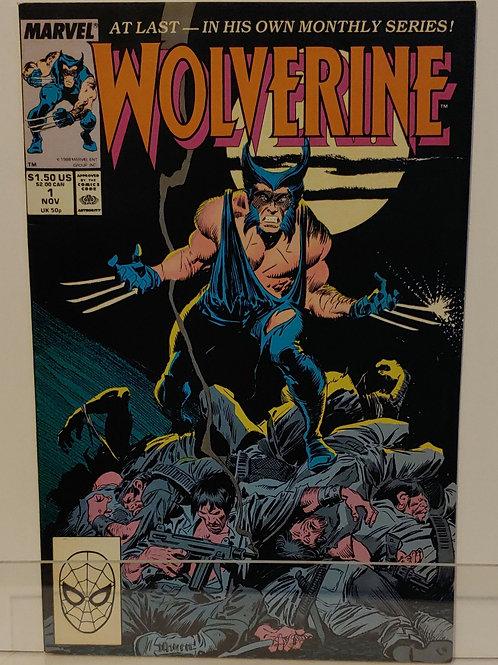 Wolverine #1.  1st Patch.  High grade!