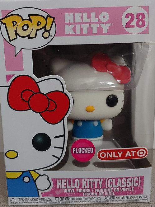 Exclusive Flocked Hello Kitty
