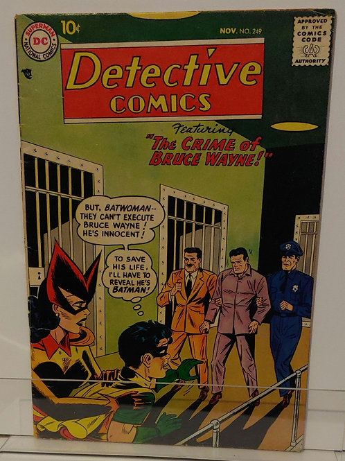 Detective #249 - Batwoman cover and story