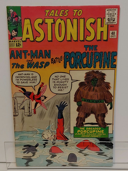 Tales to Astonish #48 (1963) High Grade Book!