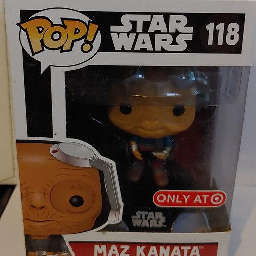 Star Wars Maz Kanata exclusive