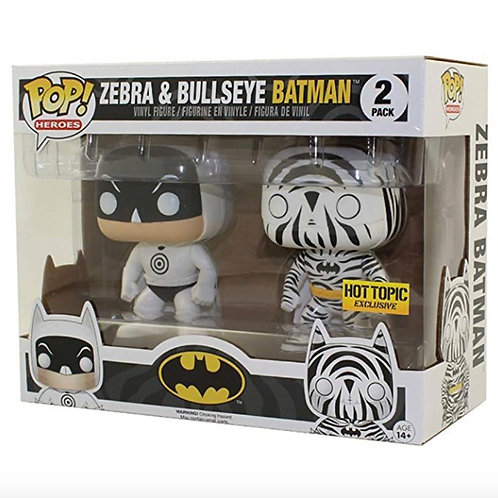 Zebra & Bullseye Batman 2 Pack