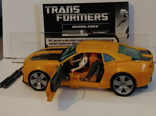 Transformers Human Alliance Bumblebeecomplete with white shirt Sam