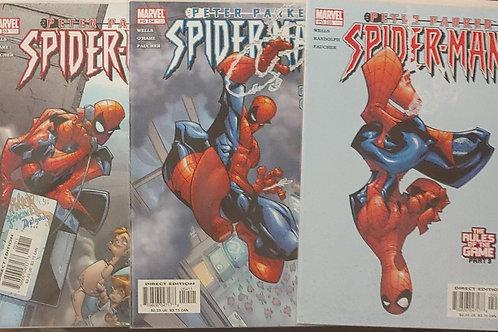 Peter Parker Spider-man #'s 53-55