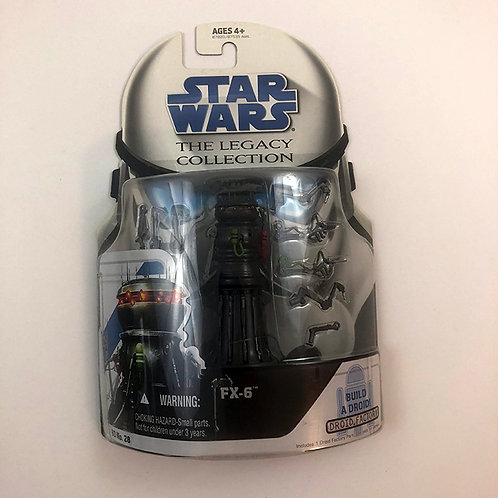 Star Wars The Legacy Collection FX-6