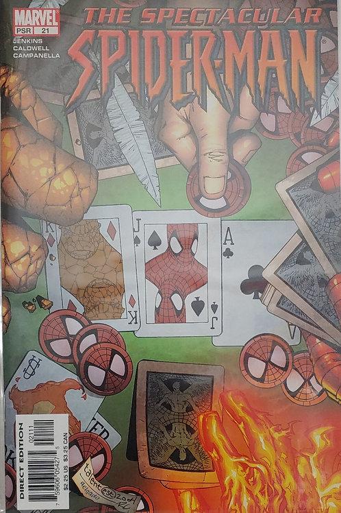 Spectacular Spider-man #21 V. 2  NM