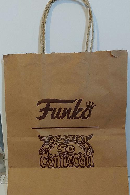 Funko paper shopping bag 2019 SDCC