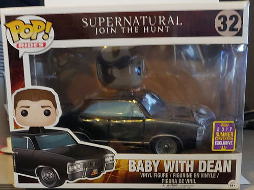 Supernatural Baby with Dean 2017 shared convention exclusive