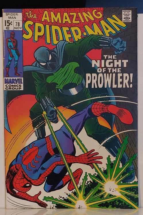 Amazing Spider-man #78 - Key!