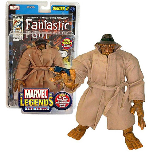 Marvel Legends The Thing Series 2 with coat