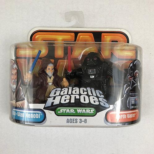 Star Wars Galactic Heroes Obi-Wan Kenobi and Darth Vader