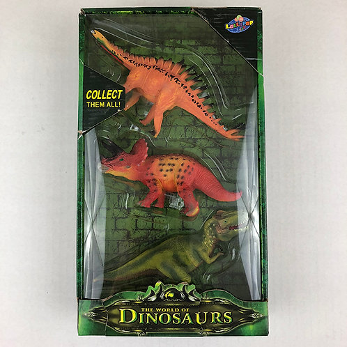 The World of Dinosaurs Set of 3 Collect all 6