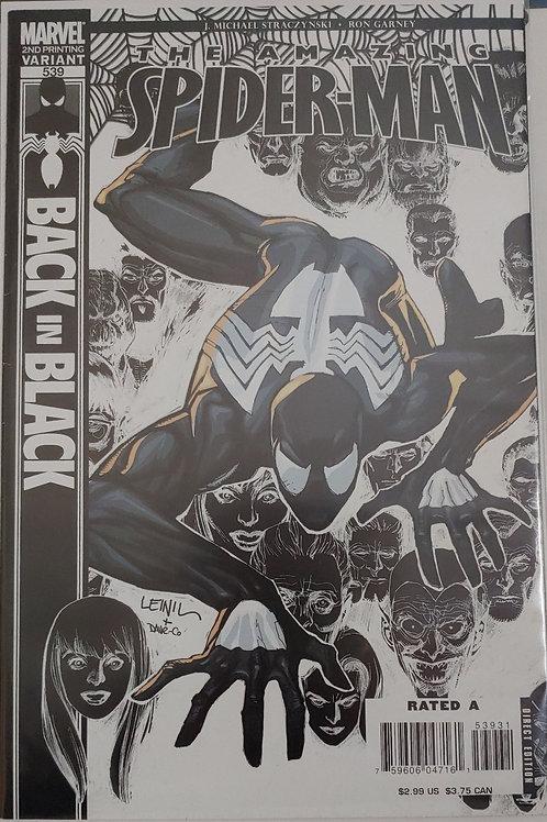 Amazing Spider-man #539-2nd print