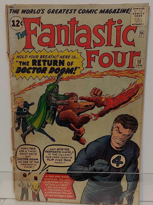 Fantastic Four #10  Early Doom