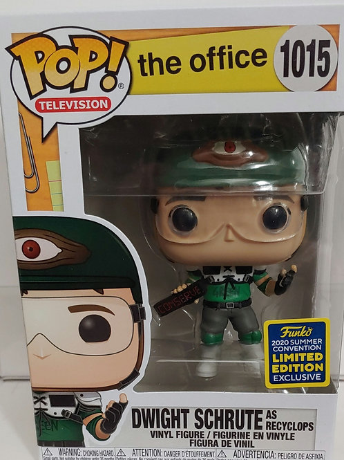 SDCC 2020 shared exclusive Dwight as Recyclops from the office
