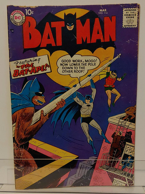 Batman #114 - 1st appearance of Togo, the Bat Ape