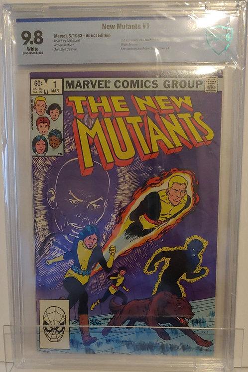 New Mutants #1  2nd New Mutants!