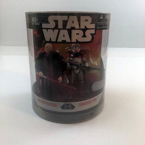 Star Wars Order 66 Emporer Palpatine & Commander Thire