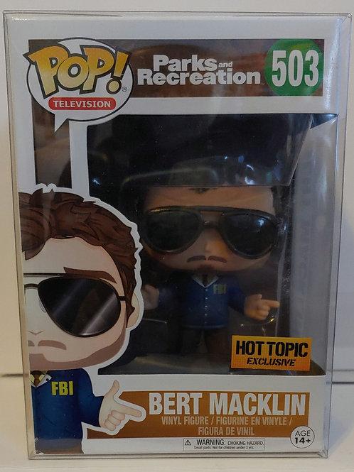 Parks & Rec. Bert Macklin Hot Topic exclusive