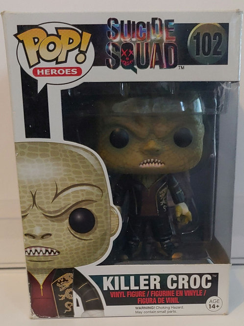 Suicide Squad Killer Croc pop
