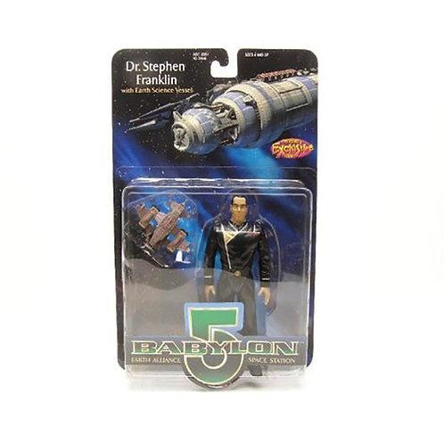 Babylon 5 Dr. Stephen Franklin with Earth Science Vessel