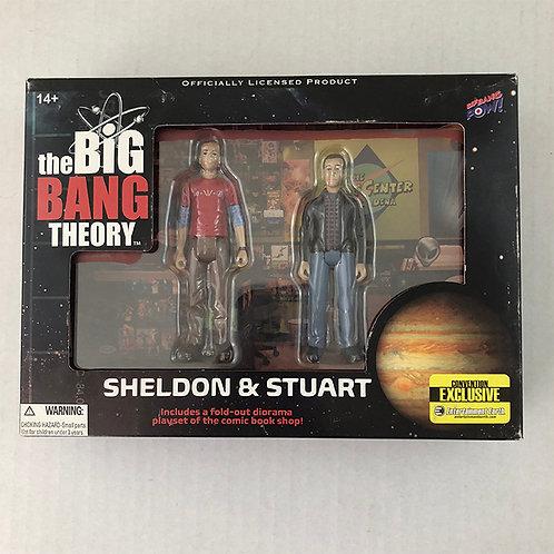Big Bang Theory Sheldon and Stuart