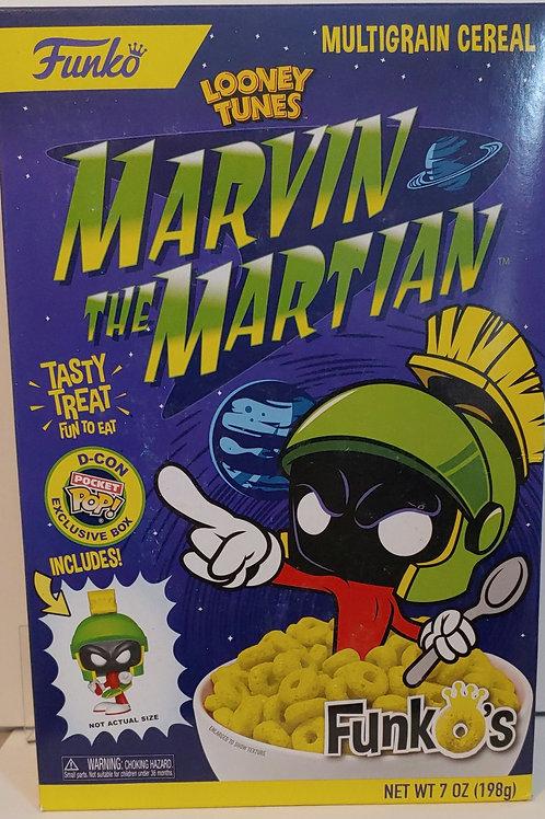 Funko 2018 DesignerCon Marvin the Martian exclusive cereal