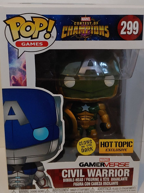 Civil Warrior GITD Pop exclusive