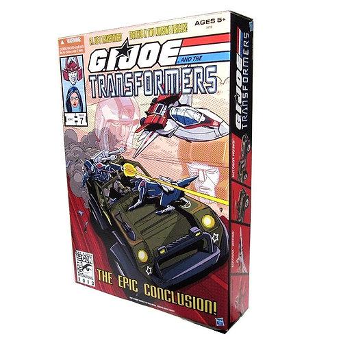 GI Joe Transformers SDCC Issue 7