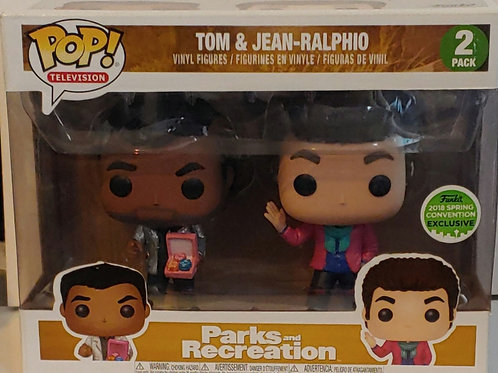 Parks & Recreation Tom and Jean-Ralphio shared convention exclusive