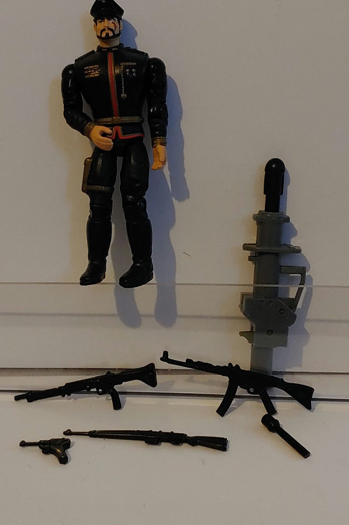 GI Joe General Blitz (#5) with all accessories