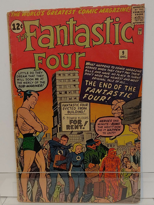 Fantastic Four #9 - early Submariner