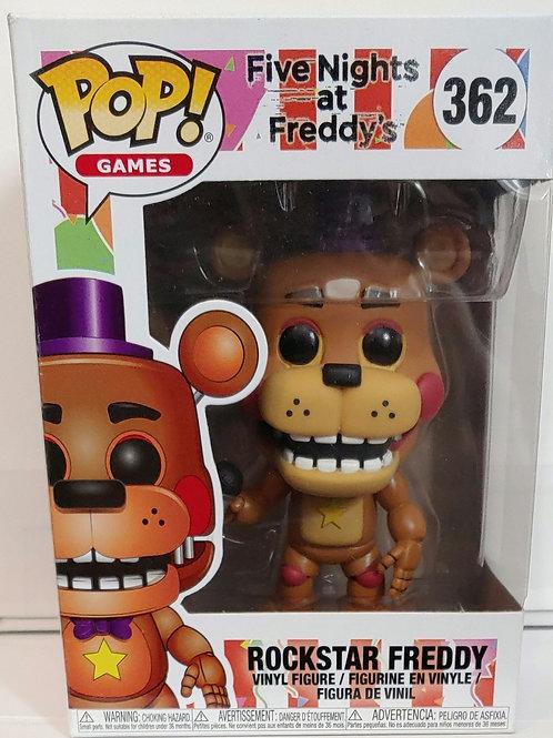 5 Nights at Freddy's Rockstar Freddy pop