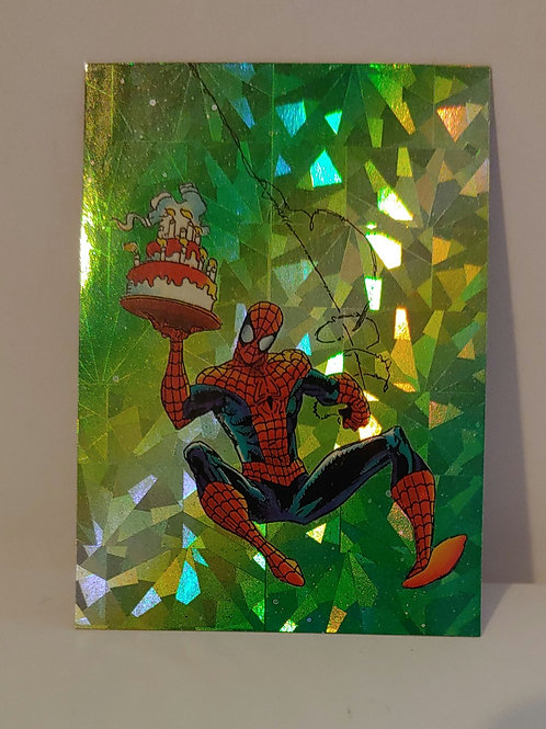 Amazing Spider-man 30th Anniversary Chase card #P7