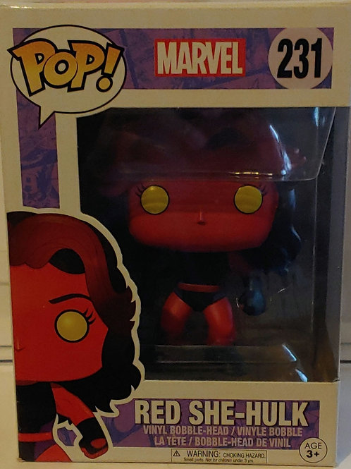 Funko Red She-Hulk pop